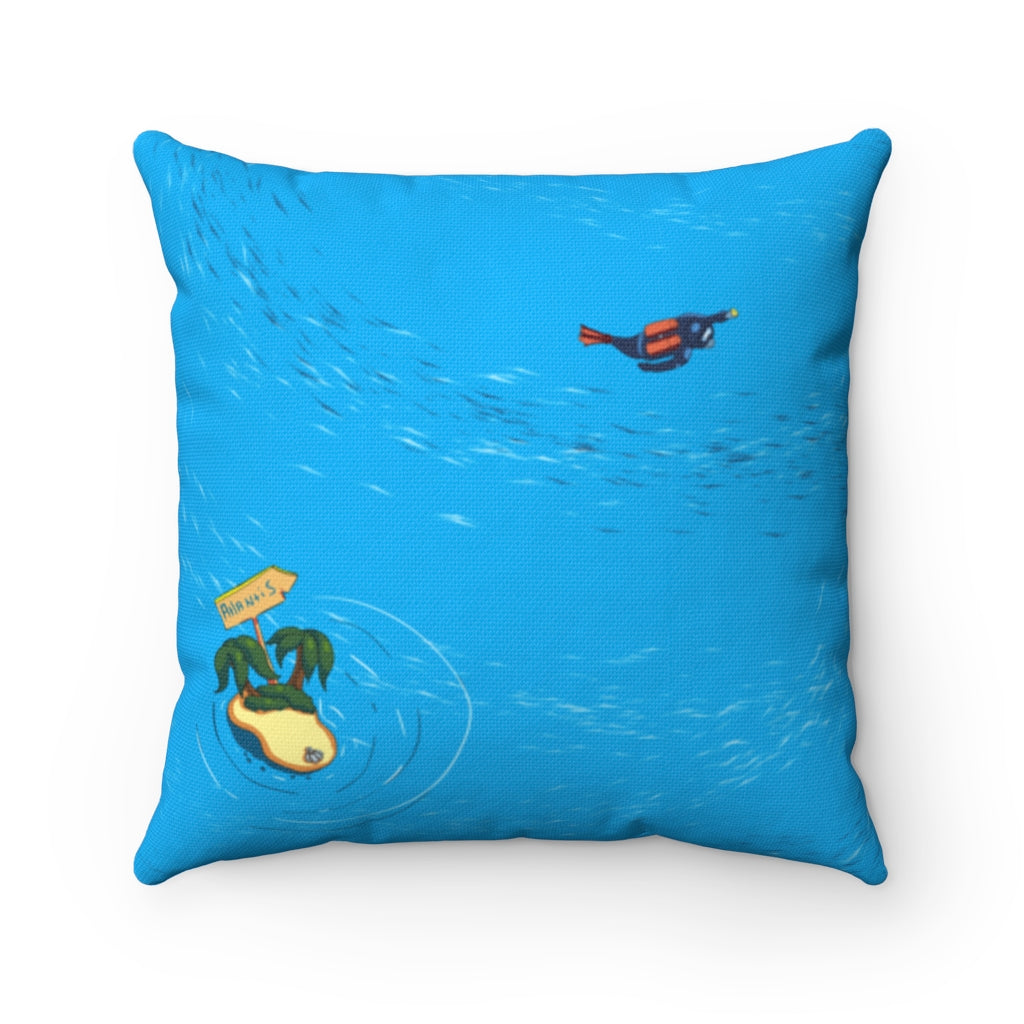 Atlantis Maze Pillow