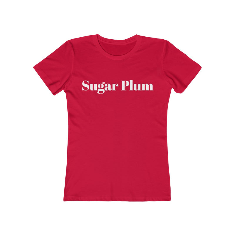 Sugar Plum Women's Christmas Tee - Burlap & Lace