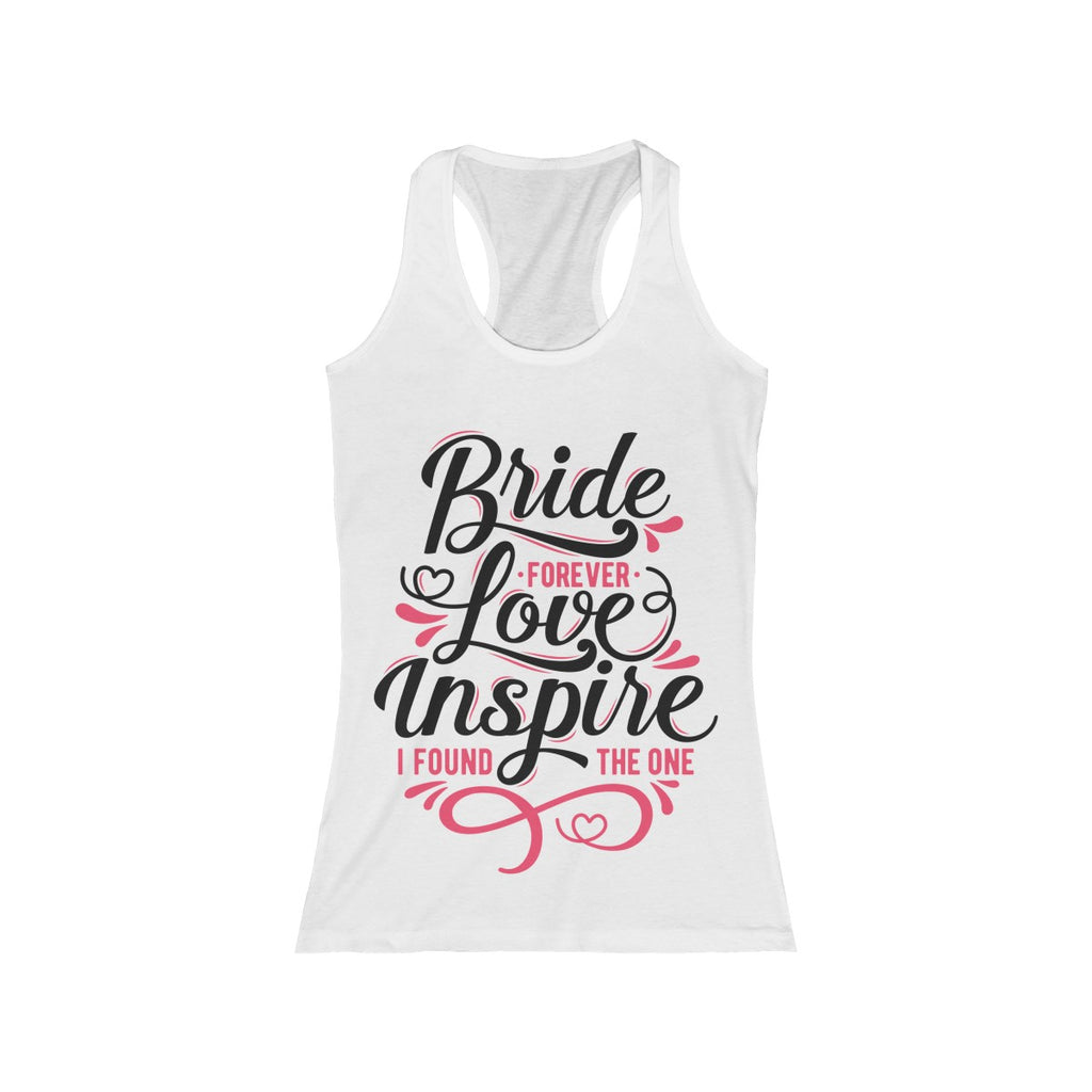 """Love Bride Inspire""  Full Length Tank"