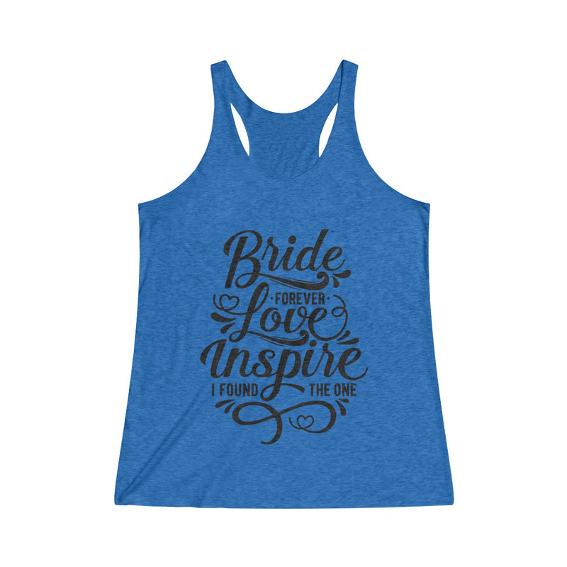 Bride ~ Inspire ~ Love (Fitted Tank)