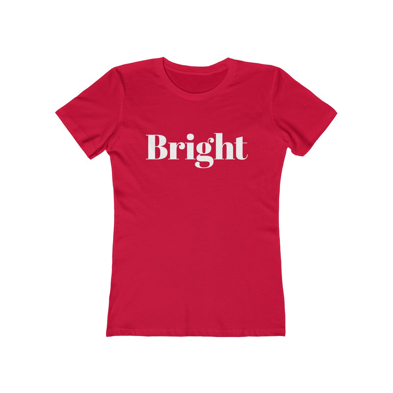 Bright Women's Christmas Tee - Burlap & Lace