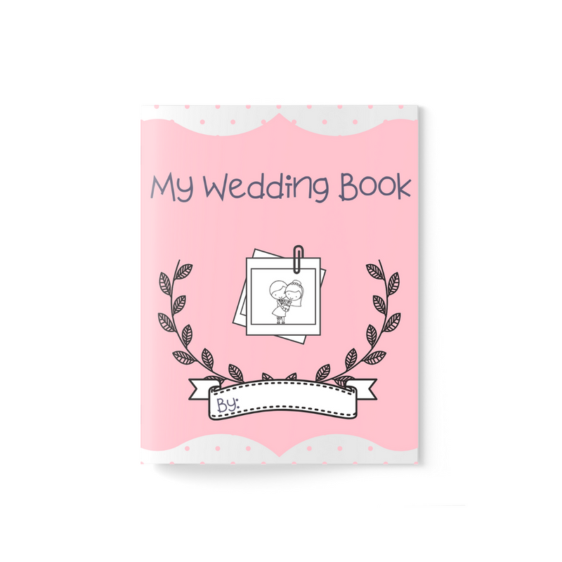 Wedding Activity Book ~ Pink