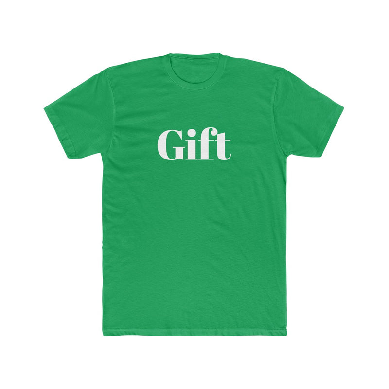 Gift Men's Christmas Tee - Burlap & Lace