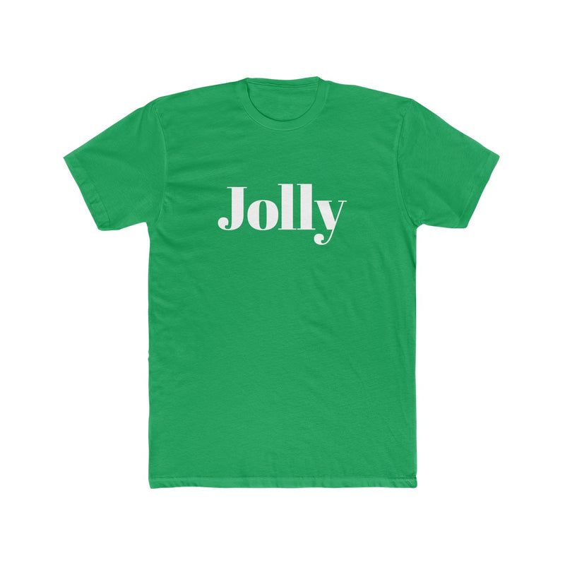 Jolly Men's Christmas Tee - Burlap & Lace