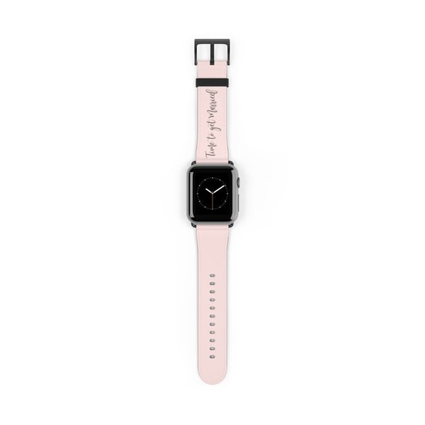 Time to Get Married Watch Strap in Blush