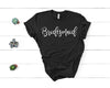 Bridesmaid Tee - Black