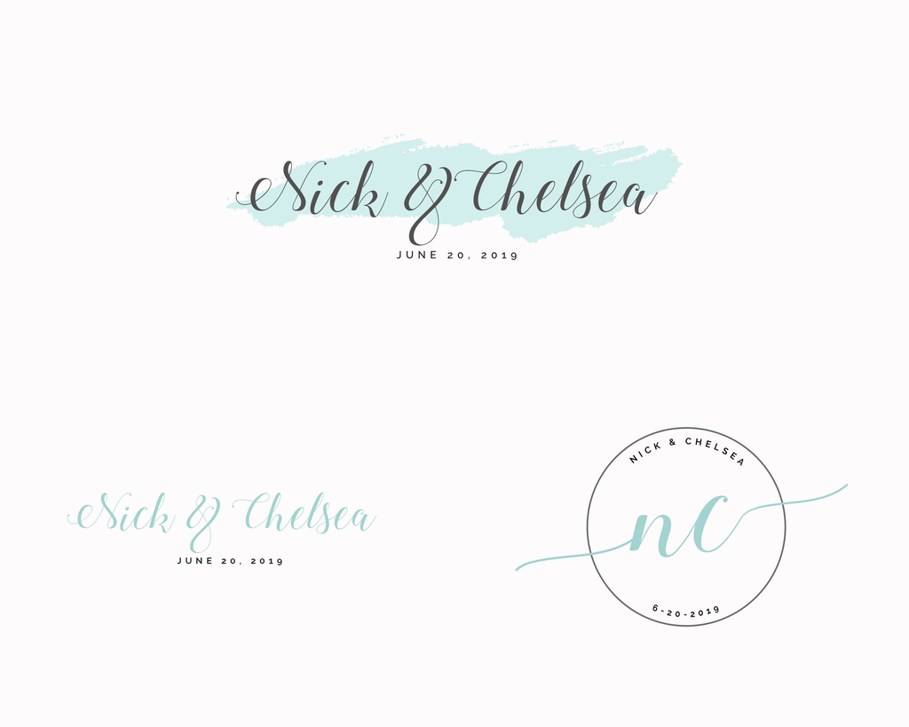 Wedding Logo Package