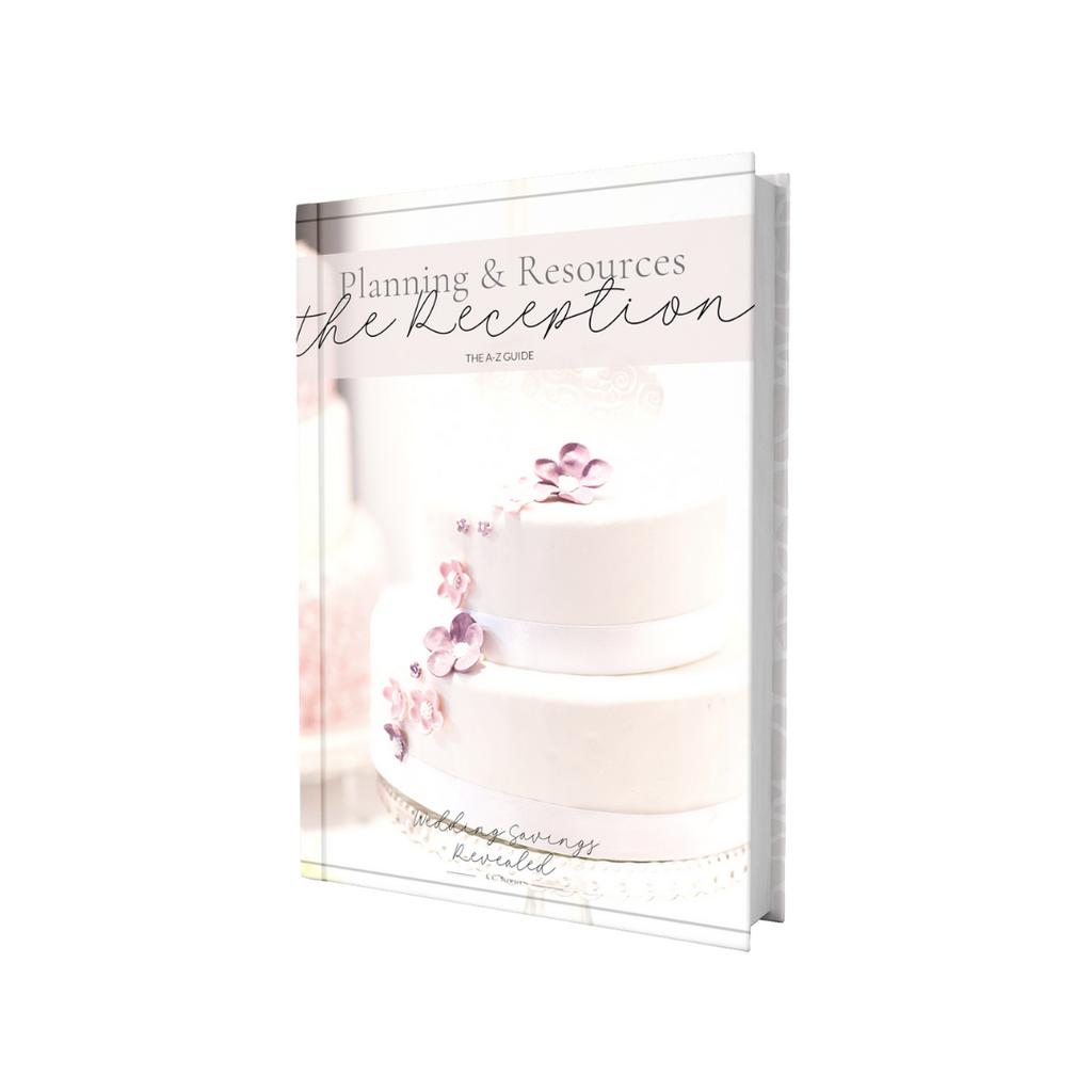 Wedding Planning Freebie - Reception Planning from A to Z
