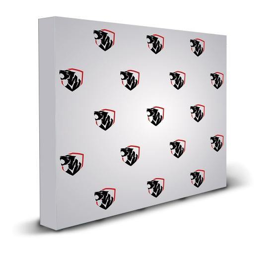10 ft x 8 ft Step & Repeat Fabric Pop Up Straight Display