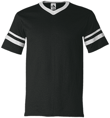360 V-Neck Sleeve Stripe T-Shirt - ToriStar Media
