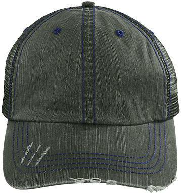 6990 Distressed Trucker Cap - ToriStar Media