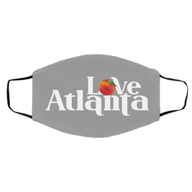 Atlanta Love Peach Face Mask - ToriStar Media