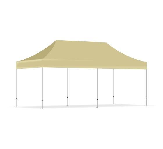 Beige Canopy Tent