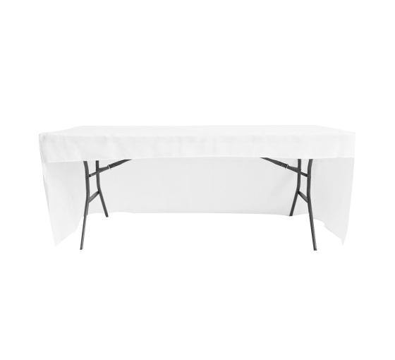 Solid White Table Cover - ToriStar Media