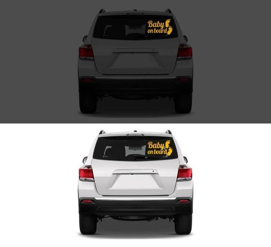Car Decal / Stickers (Reflective)
