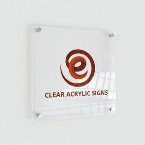 Acrylic Clear SIgn