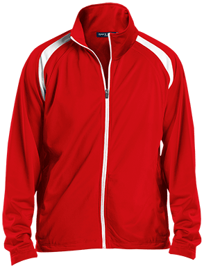 JST90 Men's Raglan Warmup Jacket