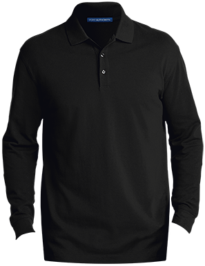K8000LS Men's EZCotton LS Polo