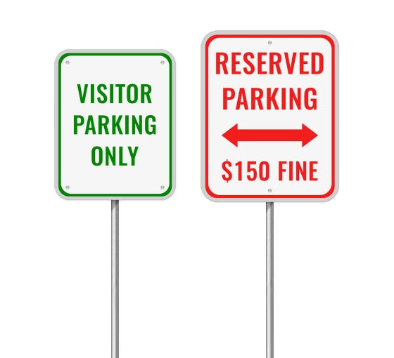 Reserved Paking Sign
