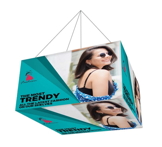 Sky Tube Rectangle Cube Hanging Banner