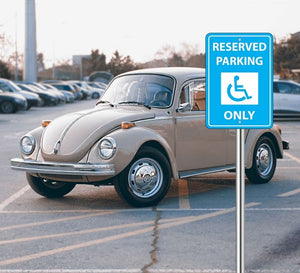Handicap Paking Sign
