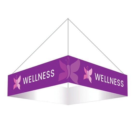 Sky Tube Square Hanging Banner