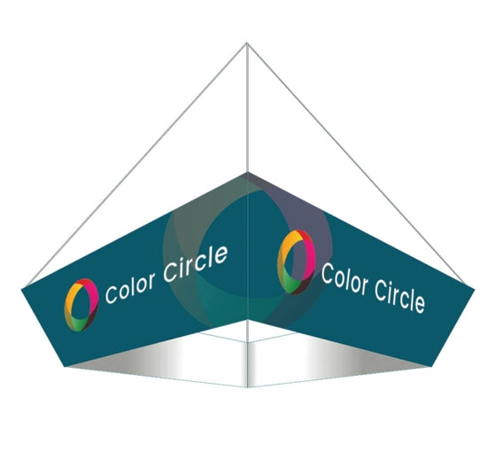 Sky Tube Tapered Square Hanging Banner