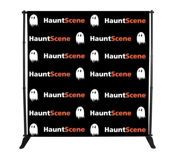 8 ft x 8 ft Step & Repeat Banner - ToriStar Media