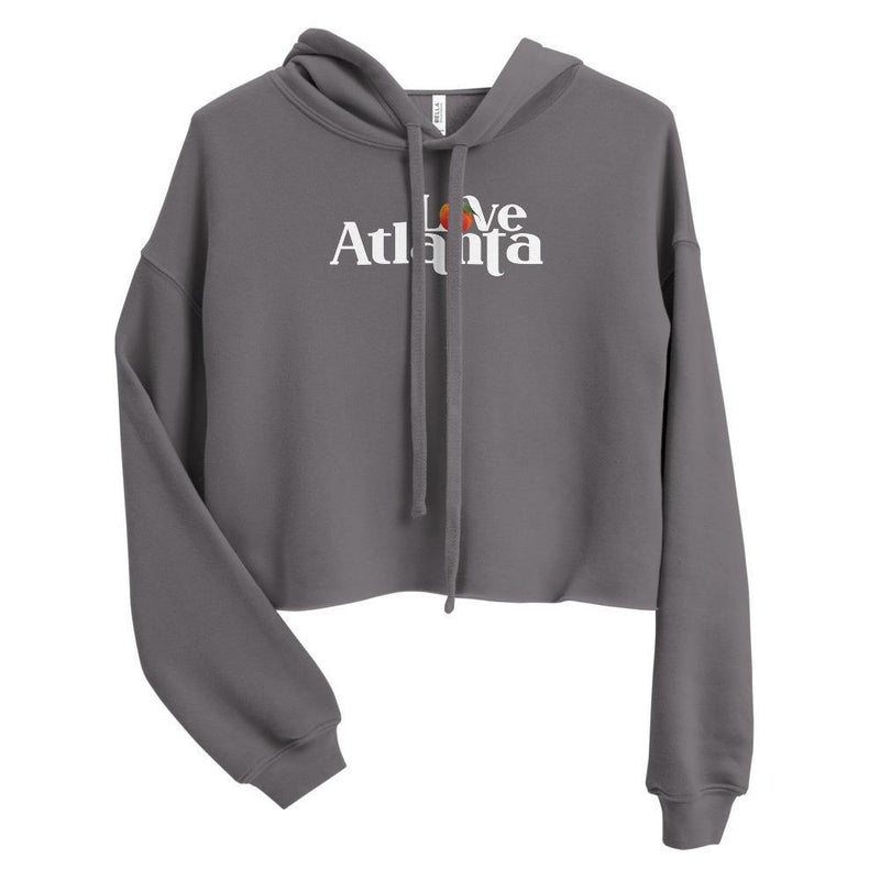 Atlanta Love Peach Crop-Hoodie - ToriStar Media
