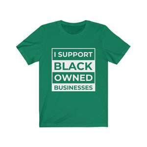 Support Black Owned Businesses Compton Tee