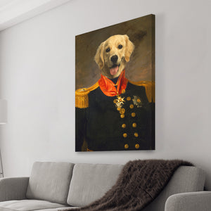 Admiral Pawp Canvas