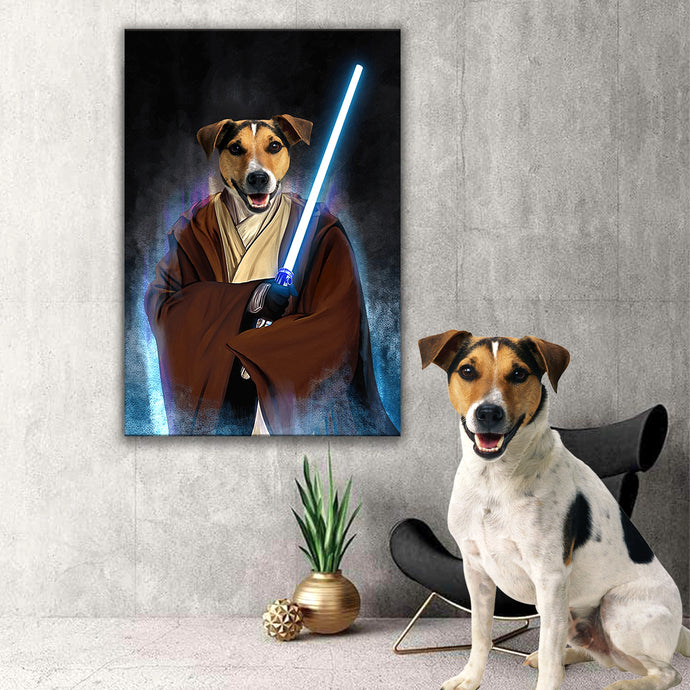 Jedi Pawtector Canvas