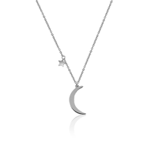 Load image into Gallery viewer, Classic Moon Star Necklace