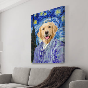 Starry Pawp Canvas