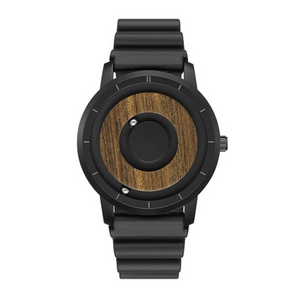 Dark Wood Magnetic Men Watch