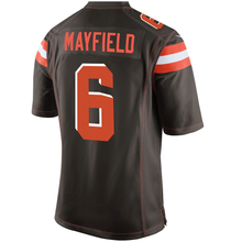 Load image into Gallery viewer, Cleveland Browns Baker Mayfield Home Game Jersey