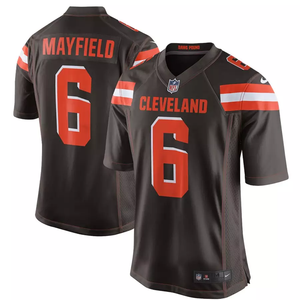 Cleveland Browns Baker Mayfield Home Game Jersey