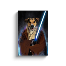 Load image into Gallery viewer, Jedi Pawtector Canvas