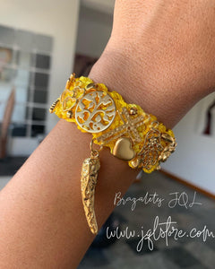 Brazalete Mini Amarillo