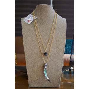 Collar Doble HornNecklace