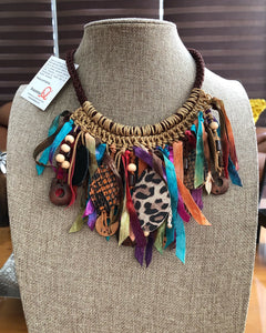 Collar Colores y Animal Print