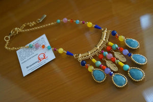 Collar Plumas Color