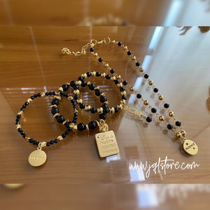 Set Pulseras y Collar Corto Mom M3