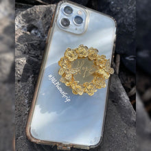 JQL Phone Grip Flores y Mariposa Doble Hope