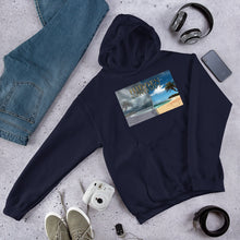Load image into Gallery viewer, Hooded Sweatshirt with Isabel Wallace Design