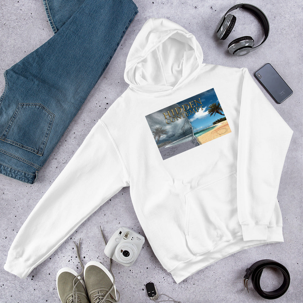 Hooded Sweatshirt with Isabel Wallace Design