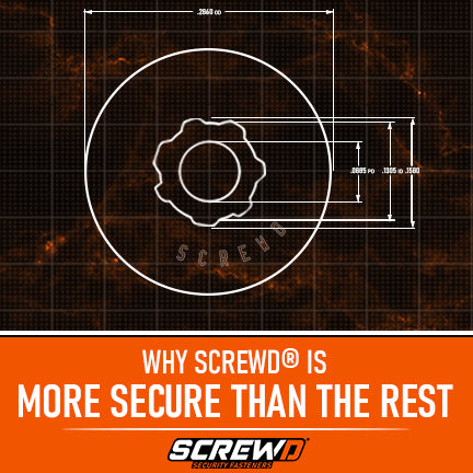 Why Screwd® is More Secure Than the Rest.