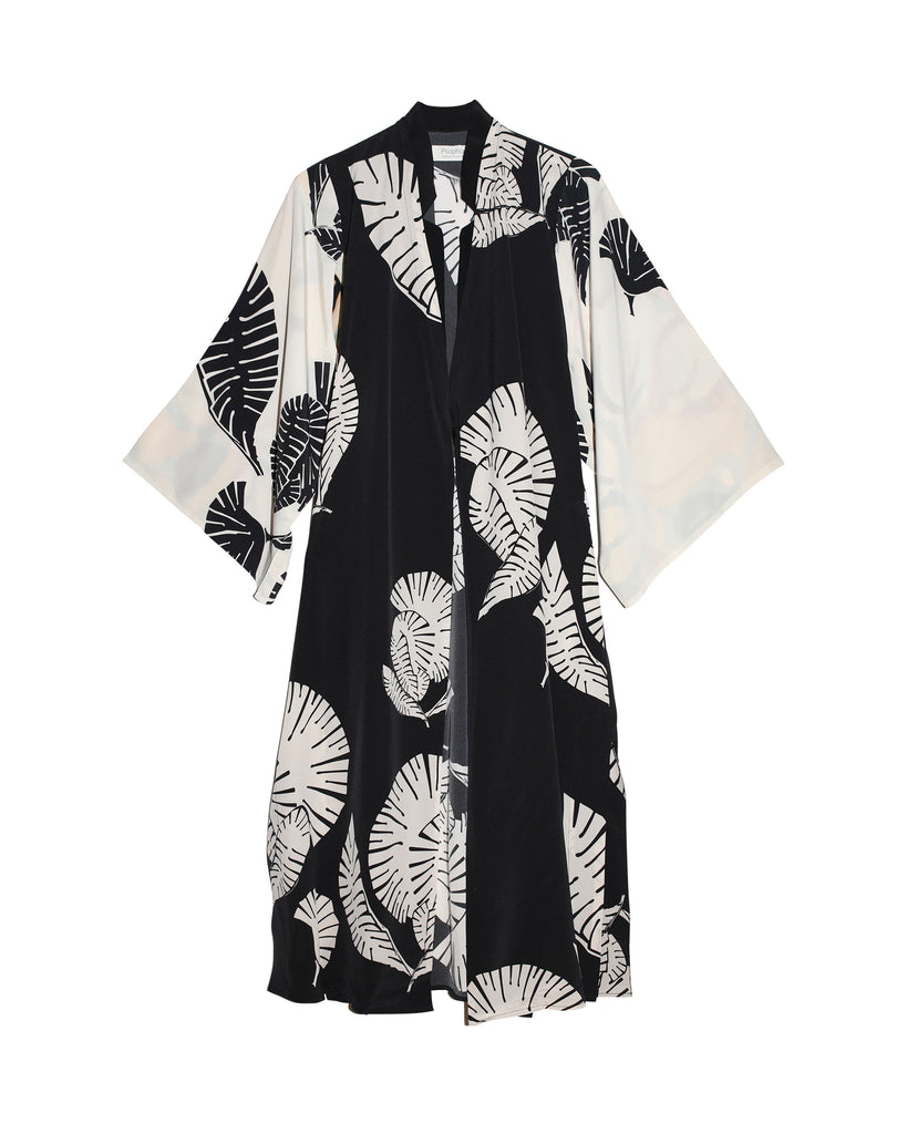 Jori Silk Robe Dress