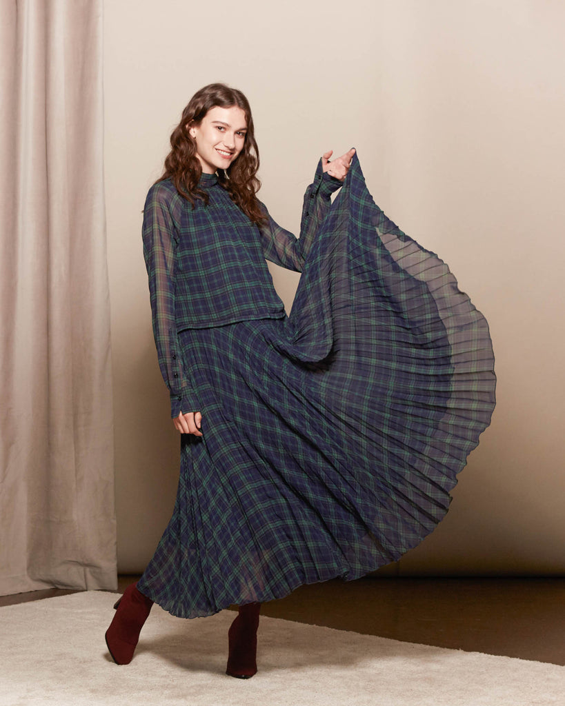 Nima Tartan Dress