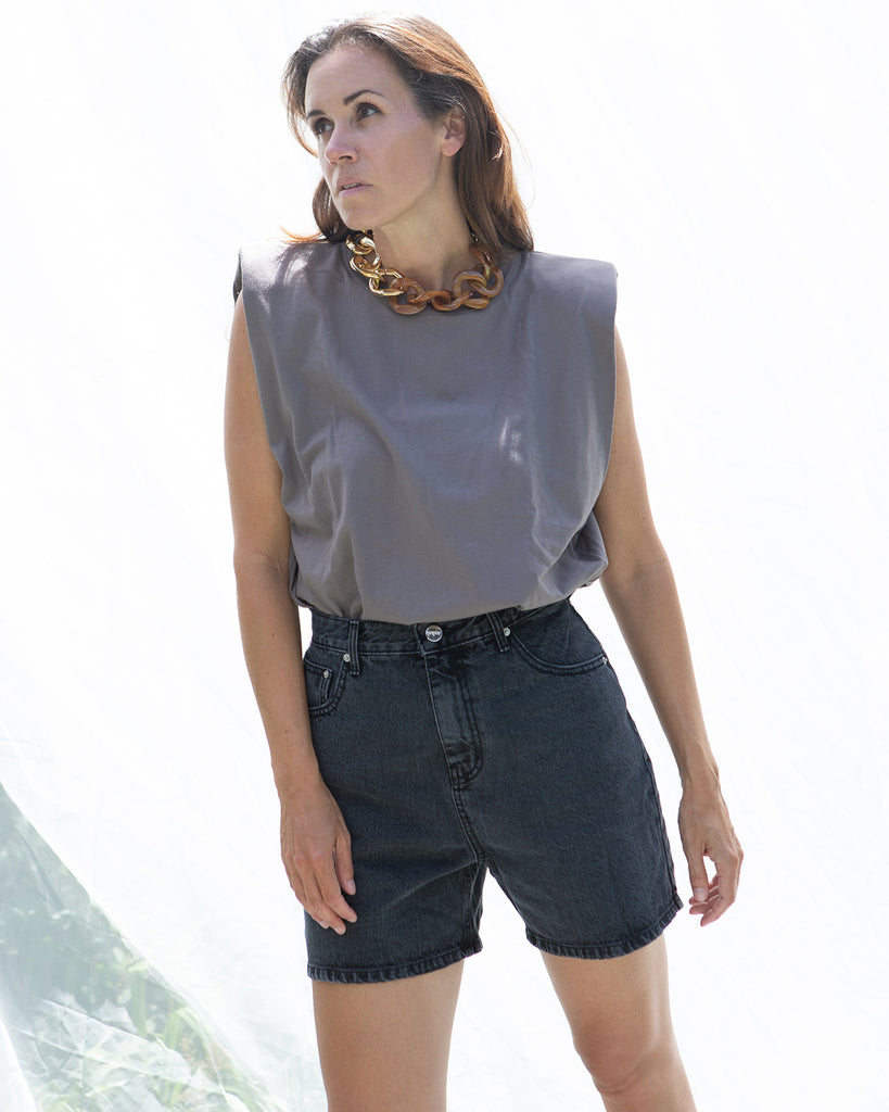 Lilu Denim Short